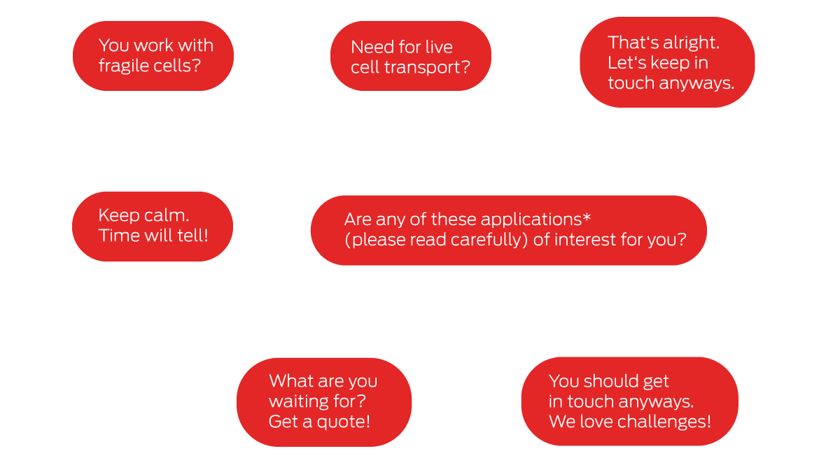 Flow chart Cellbox applications