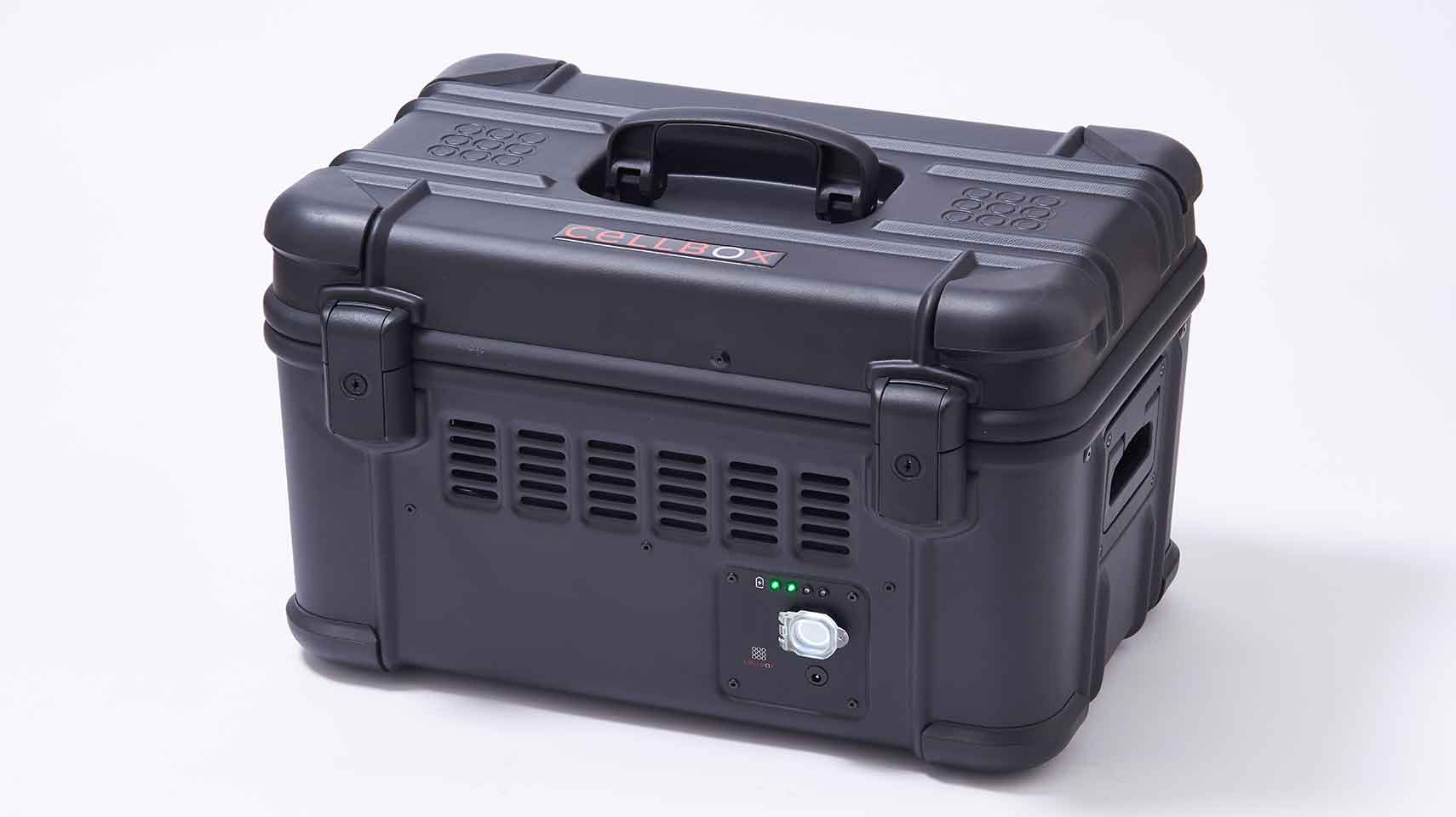 Portable CO2 incubator Cellbox ground CD